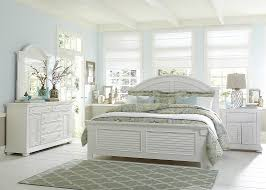 Coastal Bed Frame White Bed Coastal Look