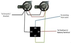 best pictures ideas of horn relay wiring diagram dolgular com