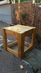 Build Outdoor End Table by Pallet End Table 10 Steps With Pictures