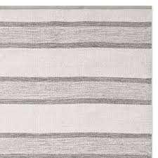 Striped Indoor Outdoor Rugs Perennials Awning Stripe Indoor Outdoor Rug Gray Williams Sonoma