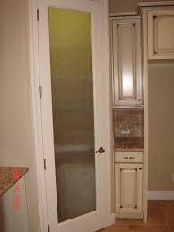 pantry door glass glass