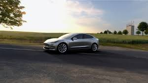 tesla model 3 electric sedan will launch with limited options
