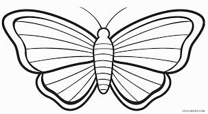 small butterfly coloring pages printable colouring for tiny
