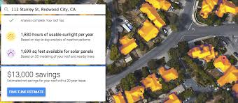 Solar Panels Estimate by Are Solar Panels Right For You S Mapping Tool Can Help