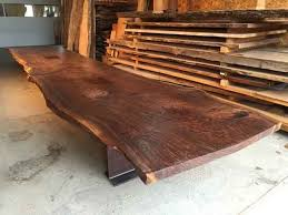 wood slab tables for sale live edge rustic wood slab furniture dumond s custom furniture