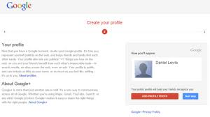 Gmail Sign Up S New Account Sign Up Requires Gmail And A Profile