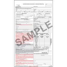 uniform household goods bill of lading and freight bill
