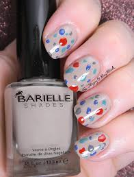 barielle mirror mirror simple nail art manicures be happy and