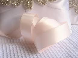 blush satin ribbon blush satin ribbon sided high quality satin ribbon