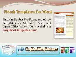 7 best microsoft word book template images on pinterest