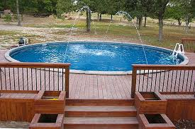 Backyard Above Ground Pool Ideas Best Above Ground Pools With Decks Resolve40 Com