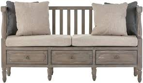 Rustic Bench Seat Cushions Pillows Rustic Bench