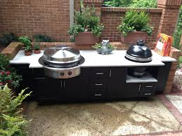 Outdoor Kitchen Cabinets And More by Cheap Outdoor Kitchen Ideas Trends And Premade Picture Trooque