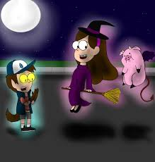 halloween is never dull in gravity falls by angryslothqueen on