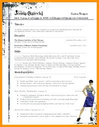exle resume layout fashion designer resume fashion design resume fashion design
