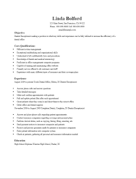 dental receptionist resume samples dental receptionist resume