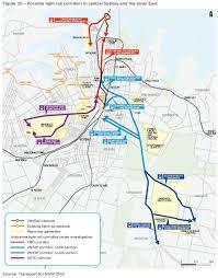 Sydney Subway Map March 2012 Transport Sydney