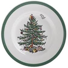 spode tree bread and butter plate bread