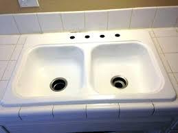 reglaze cast iron sink kitchen sink restoration antique cast iron sink kitchen sink