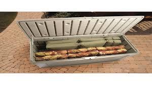 rubbermaid split lid deck storage walmart for rubbermaid deck box