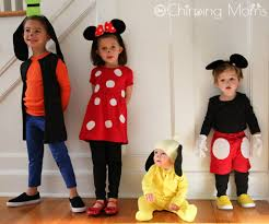 minnie and mickey mouse halloween costumes for adults easy diy mickey u0026 pals costumes the chirping moms