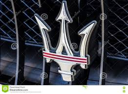 maserati car symbol maserati car logo editorial photo image 15905871