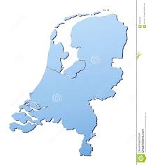 netherlands map royalty free stock images image 4582109