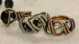 metal wire rings images Wire ring making with eva sherman 5 tips for making stylish wire jpg