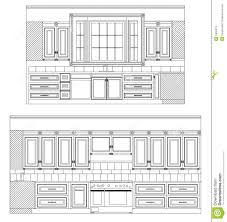 home drawing vector home kitchen drawing royalty free stock images image 5955019