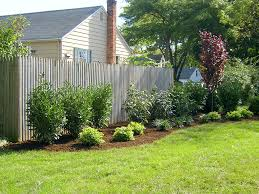 Ideas For Backyard Privacy by Triyae Com U003d Landscaping Ideas For Backyard Fences Various