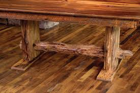 Wood Table Base by Rocky Mountain Barn Wood Dining Table Rustic Furniture Mall By