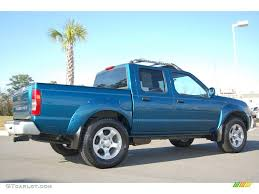 nissan frontier crew cab 2001 electric blue metallic nissan frontier sc v6 crew cab