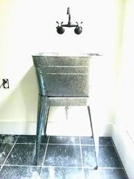 galvanized tub kitchen sink galvanized bathroom sink lovely galvanized kitchen sink artsport