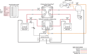 marine dual battery wiring diagram diagram wiring diagrams for