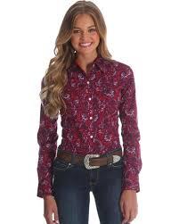 paisley blouse wrangler s george strait paisley print shirt country