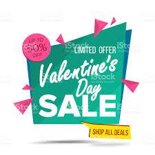 s day sale banner vector website sticker february 14 web