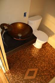 Diy Bathroom Flooring Ideas Best 20 Pennies Floor Ideas On Pinterest Penny Table Penny