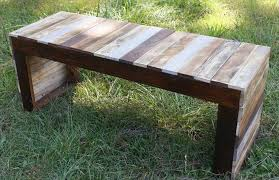 Diy Wood Pallet Outdoor Furniture by Wooden Pallet Sitting Bench Plans Pallet Wood Projects