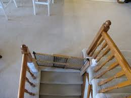 Child Gates For Stairs The Bean Sprout Notes Baby Gate Solution For Unusual Stairwell