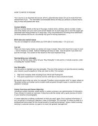 How To Write A Profile For A Resume How To Write A Resume Net Best Business Template