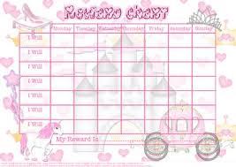 perfect princess child u0027s reward chart cup170821 614 craftsuprint