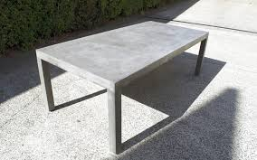 concrete and wood outdoor table square wood outdoor dining table diy concrete tables planbsmallclub