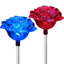 thanksgiving lights amazon com solar rose lights holiday outdoor decoration color