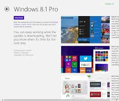 how to upgrade to windows 8 1