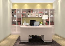 study room design by scandinavian style 3d house