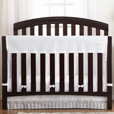 breathablebaby r classic breathable r white mesh crib liner