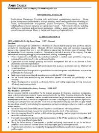 summary for resume objective summary for resume resume exles free premium