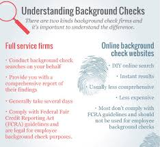 How To Pass A Criminal Background Check How To Choose The Right Background Check Service