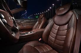 mercedes benz sl gets new interior by vilner 4
