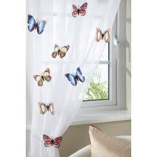 pack of 8 funky decorative butterfly voile clips more available